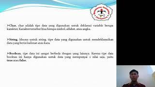 KULIAH DDP AGUNG TRI PRASTOWO|TEKNOKRAT_DDP_IF17E_YOSHUA M S _ ANELDO F O