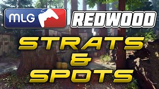 Black Ops 3 Competitive Spots & Strats: Redwood