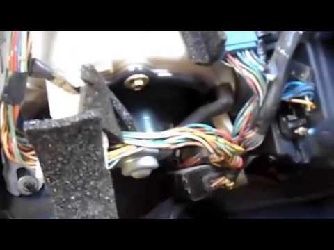 Toyota Starlet чистка печки кондиционера