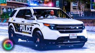 getlinkyoutube.com-GTA 5: LSPDFR Snow Patrol - Anchorage Alaska Police!