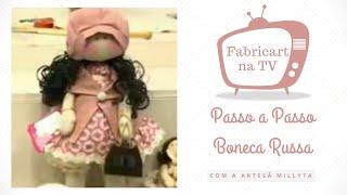 getlinkyoutube.com-Passo a Passo Boneca Russa com a artesã Millyta e Fabricart