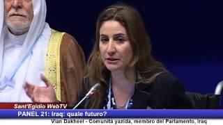 getlinkyoutube.com-Vian Dakheel, Comunità Yazida: Iraq, quale futuro? #peaceisthefuture 2014 (ITA)