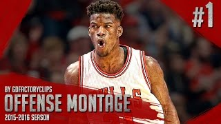 getlinkyoutube.com-Jimmy Butler Offense & Defense Highlights Montage 2015/2016 (Part 1) - GETS BUCKETS!