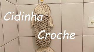 Croche-Peixe Jg Bnaheiro(4Peças)Porta Papel Higienico-Passo A Passo-Parte 2/2