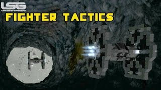 getlinkyoutube.com-Space Engineers - Fighter Pilot Tips & Tactics, Nowhere To Run Dogfights