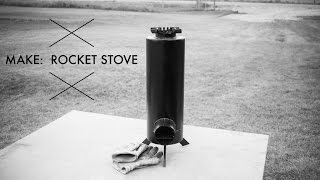 Making a Rocket Stove
