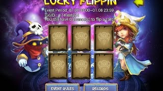 getlinkyoutube.com-Castle Clash: Lucky Flippin' event - High chance to roll PD ... ?