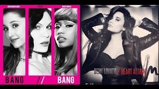 getlinkyoutube.com-Bang Heart Bang - Demi Lovato Ft. Jessie J, Ariana Grande and Nicki Minaj