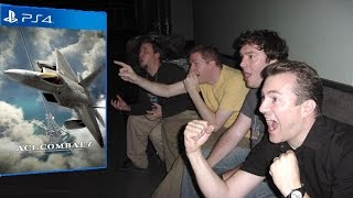 getlinkyoutube.com-Live Reaction to Ace Combat 7's Trailer at the 2016 PlayStation Experience