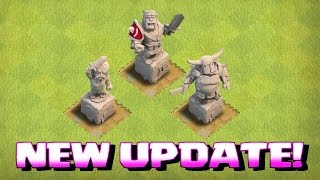 getlinkyoutube.com-Clash Of Clans - NEW KING ARMOR!! (RED UPDATE!!!)