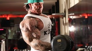 ZOTTMAN CURLS - OLD SCHOOL EXERCISE FOR BI's BRACHIALIS AND FOREARMS - Rich Piana