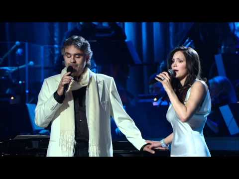 Andreea Bocelli and Katharine Mcphee - The prayer (Live 2008) HD
