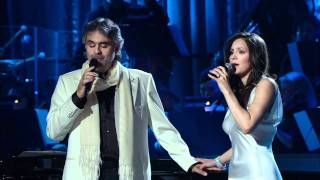 getlinkyoutube.com-Andrea Bocelli and Katharine Mcphee - The prayer (Live 2008) HD