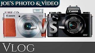 getlinkyoutube.com-Canon Powershot G5 X & G9 X Camera Comparison | Vlog
