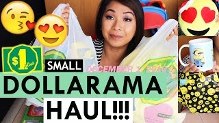 getlinkyoutube.com-DOLLARAMA HAUL!!! EMOJI TOTES, CHRISTMAS EMOJI PILLOWS & HOUSEHOLD!! | DECEMBER 1, 2016 #8