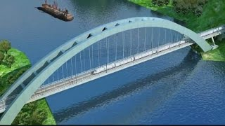getlinkyoutube.com-Guangzhou to Nanning High Speed Railway Animation南广高速铁路动画演示