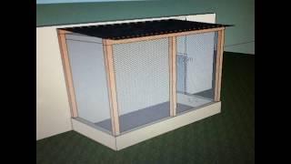 getlinkyoutube.com-Construção do meu viveiro para calopsitas!