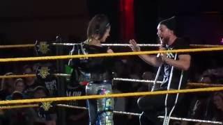 getlinkyoutube.com-Bayley does Finn Balor's Entrance & More 2/6/16 NXT Indy