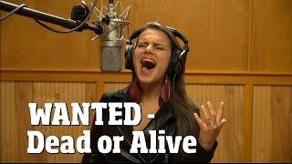 getlinkyoutube.com-Wanted - Dead or Alive / Bon Jovi (cover)/ Xiomara Crystal / Ken Tamplin Vocal Academy