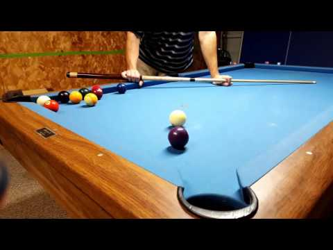 Aiming System for Pool - Thick or Thin System