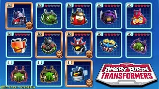 getlinkyoutube.com-Angry Birds Transformers: All New Characters Unlocked