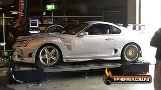 getlinkyoutube.com-Toyota Supra Twin Turbo 1403HP Win,s Dyno battle HD