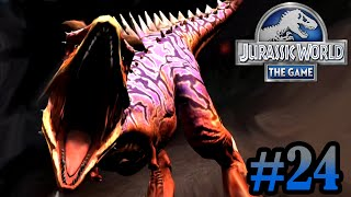 getlinkyoutube.com-Level 40 Carnotaurus!! | Jurassic World - The Game | #24