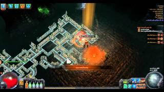 getlinkyoutube.com-Path of Exile 2.0 shadow skill FROST BLADES