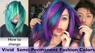 getlinkyoutube.com-How to change Vivid Semi-Permanent Fashion Colors