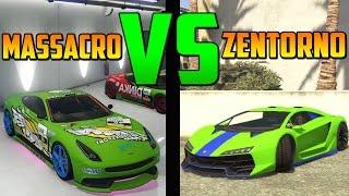 getlinkyoutube.com-Zentorno VS Massacro Carreras - Test de Velocidad - El Vehículo Mas Rápido de GTA 5 Online