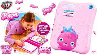 getlinkyoutube.com-Moshi Monsters Poppet Secret Diary Toy Review Unboxing Vivid Toys