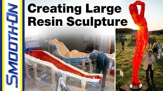 Moldmaking Process - Creating a Large Resin Sculpture, presented by Figuration Studios width=