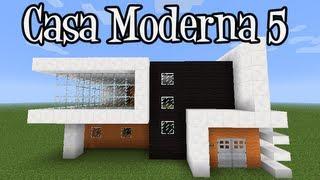 getlinkyoutube.com-Tutoriais Minecraft: Como Construir a Casa Moderna 5