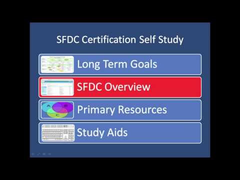 SFDC Certified Administrator Self Study Video Blog
