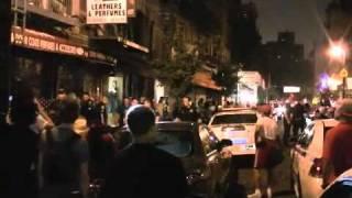 Bavure policiere à la soirée de smif-n-wessun et de Pete Rock