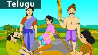 getlinkyoutube.com-Do not Lie - Panchatantra Stories - Telugu