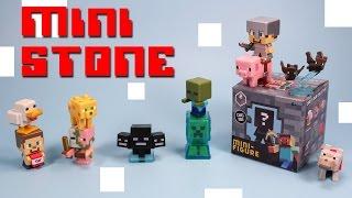getlinkyoutube.com-Minecraft Mini-Figure Mystery Box Stone Series 2 Opening Codes