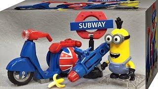 getlinkyoutube.com-메가블록 미니언즈 스쿠터 탈출 레고 호환 블럭 애니메이션 미니언 캐릭터 장난감 Mega Bloks Minions Scooter Escape