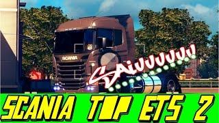 Euro Truck Simulator 2 - Scania Modificada Brasileira