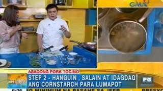 Kitchen Hirit: Asadong pork tocino   Unang Hirit