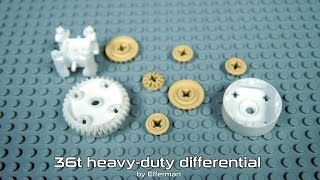 getlinkyoutube.com-Test: Custom 3D Printed LEGO-Compatible Elements
