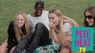 getlinkyoutube.com-Impossible Magic Trick with Borrowed Chewing Gum | Pete Heat TV Episode 2