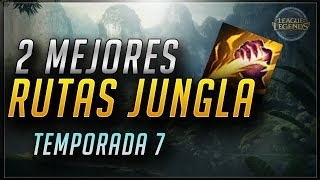 getlinkyoutube.com-DEJEMOS DE MANQUEAR! - Mejores Rutas Jungla pretemporada y temporada 7 (League of Legends)