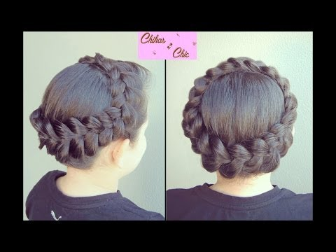 Peinado: Corona en Trenza Holandesa - Hairstyle: Dutch Braided Crown | Chikas Chic
