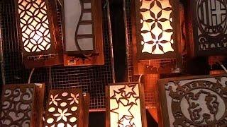 Lampu Batik Solo