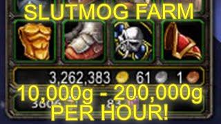 getlinkyoutube.com-World of Warcraft AQ 20 Slutmog Transmog Farm 10,000 - 200,000 Gold [WoW Legion Gold Farming Guide]