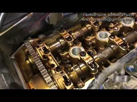 Замена прокладки клапанной крышки BL 1.6