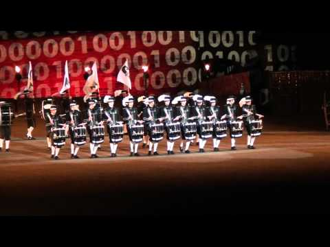 Top Secret Drum Corps at The Royal Edinburgh Military Tattoo 2012