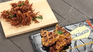 getlinkyoutube.com-Kanda Bhaji | Best Foodie Friends | Chef Anupa | Sanjeev Kapoor Khazana