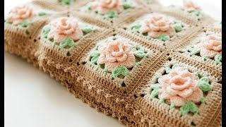 getlinkyoutube.com-Crochet Patterns| for free |Crochet Baby Blanket| 575